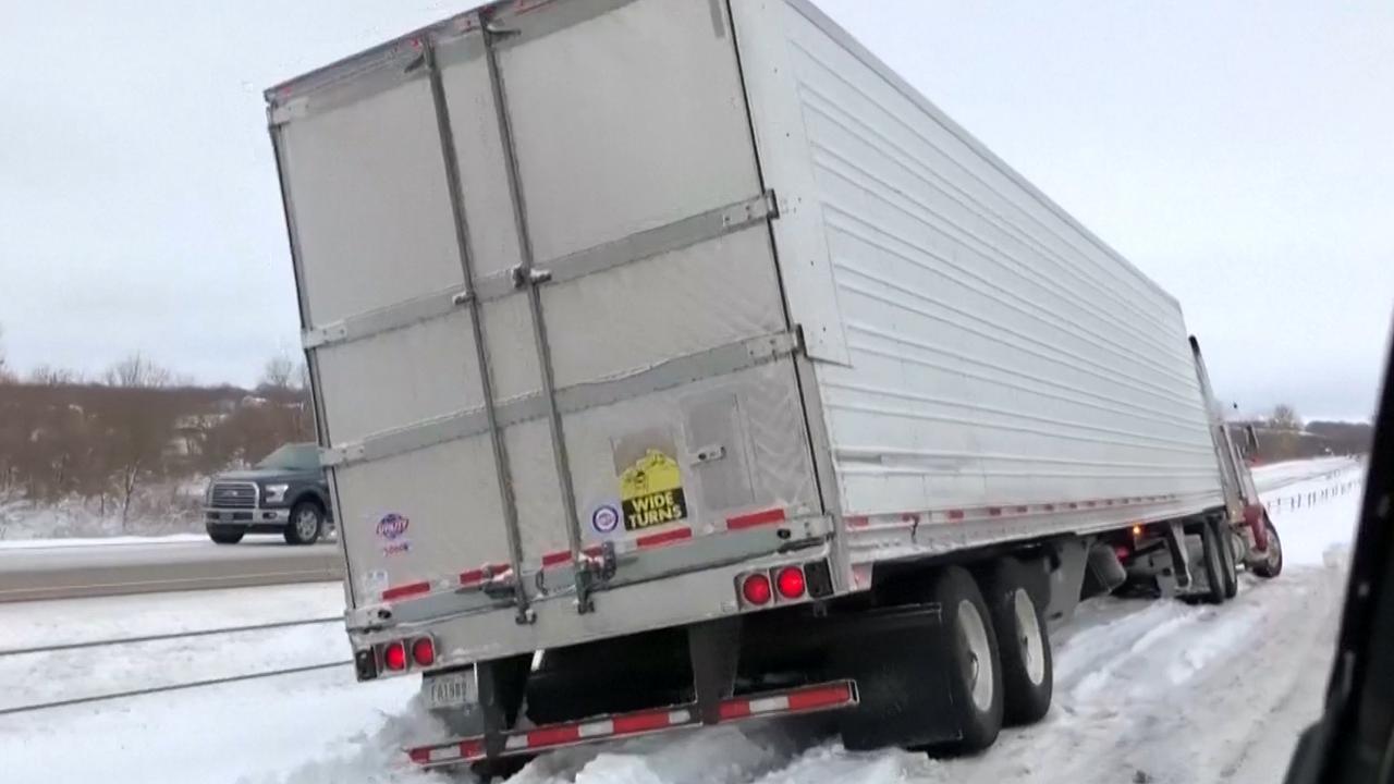 Middenwesten VS kampt met hevige sneeuwval