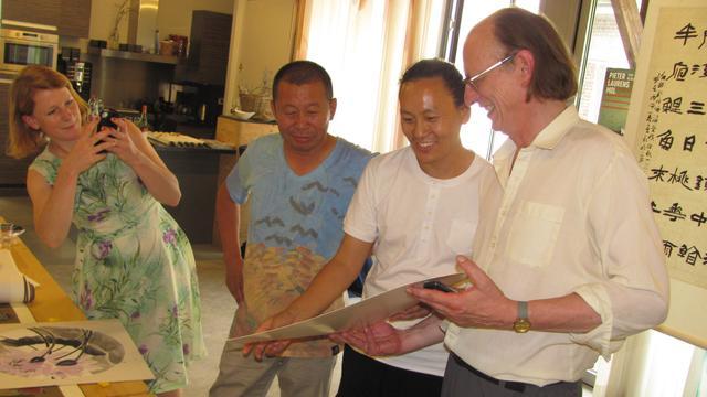 Chinese kunstenaars strijken neer in Zundert