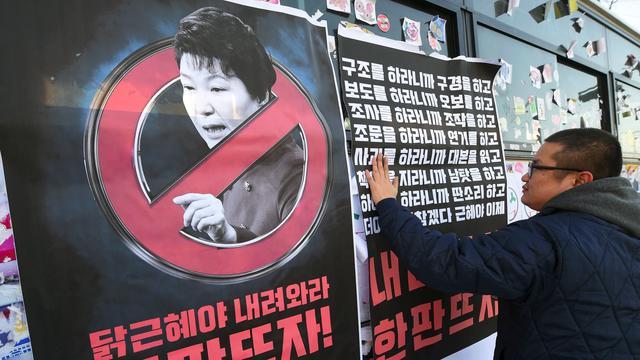 Zuid-Koreaanse parlementariërs stappen uit partij omstreden president
