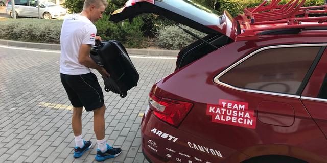 Zieke Lammertink na week pas eerste uitvaller in Ronde van Spanje