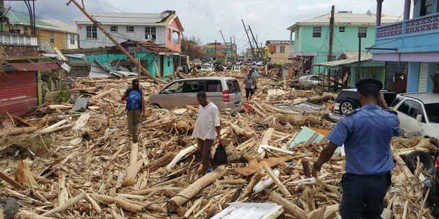'In de toekomst meer zware orkanen als Irma en Maria'