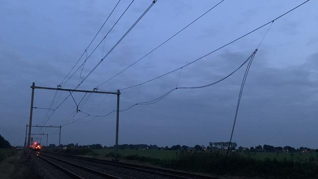 ProRail: Tot donderdagmiddag geen treinen tussen Amersfoort en Amsterdam