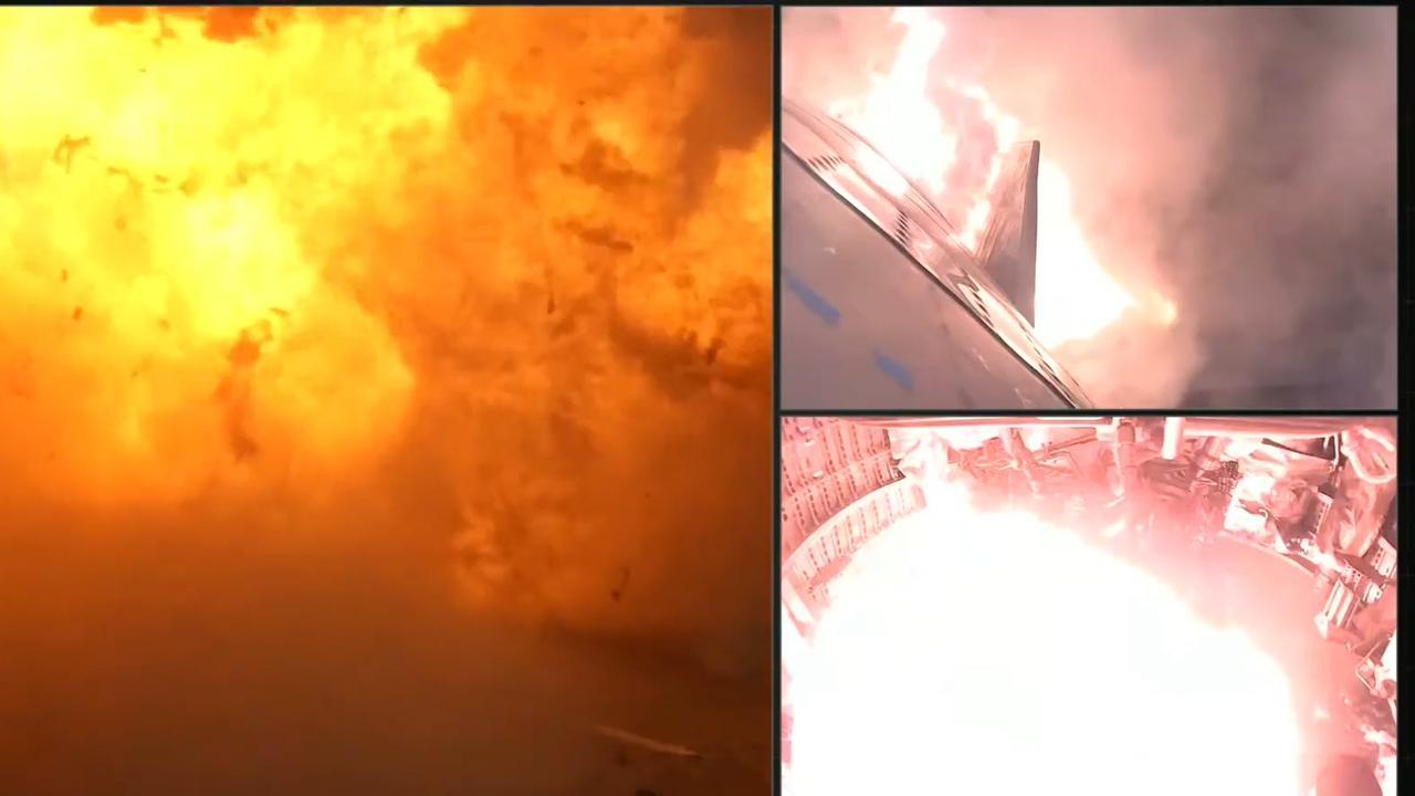 Marsraket Starship van SpaceX explodeert bij landing na testvlucht
