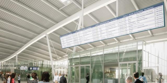 10 jaar na verdwijnen 'klapperbord' weer een groot scherm op Utrecht Centraal