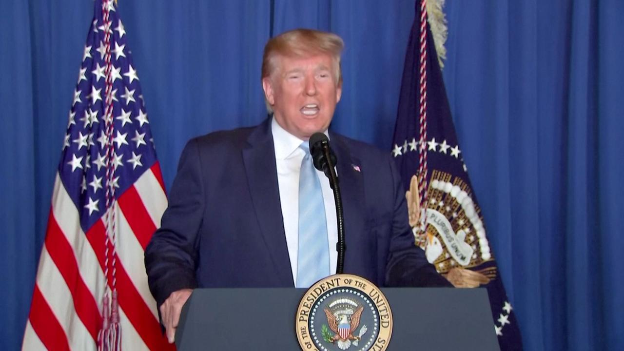 Trump: 'VS wil oorlog met Iran voorkomen, niet starten'