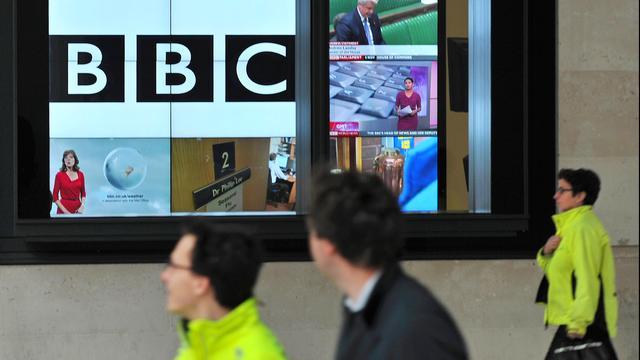 'Presentator George Riley mag nooit meer voor BBC werken'