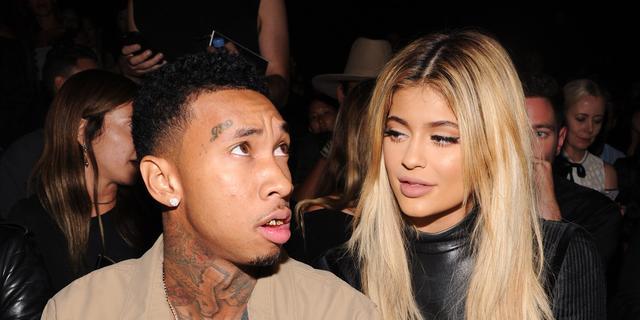 Kylie Jenner en Tyga leerden omgaan met hatelijke reacties