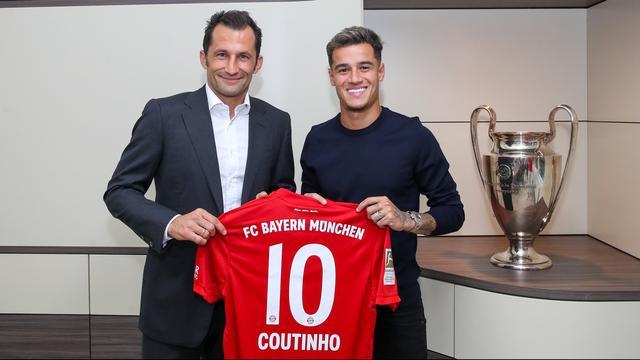 Bayern vroeg Robben toestemming om nummer 10 aan Coutinho te geven