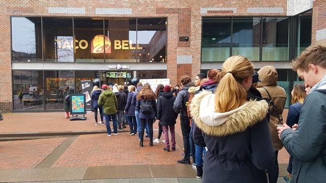 Enige drie Taco Bell-restaurants in Nederland per direct dicht