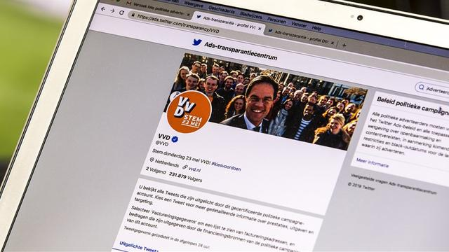 Overzichten van politieke advertenties op sociale media zijn onvolledig