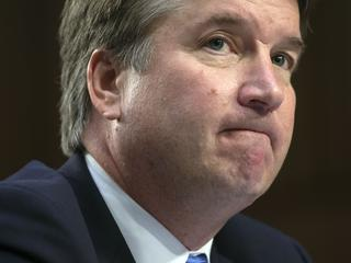 Brett Kavanaugh voorgedragen door Donald Trump