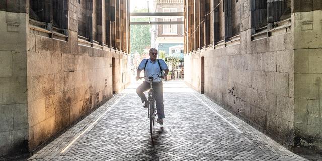 Burgemeester Jan van Zanen neemt met fietstocht afscheid van Utrecht