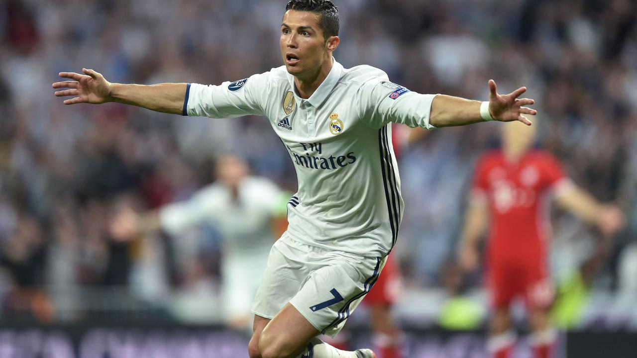 Honderdste goal Ronaldo in Champions League