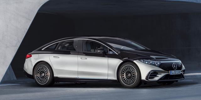 EQS van Mercedes komt elektrisch bijna 800 kilometer ver