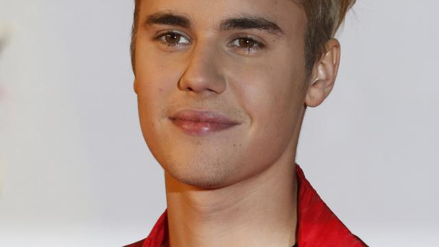 Bieber trapt een balletje in de stad