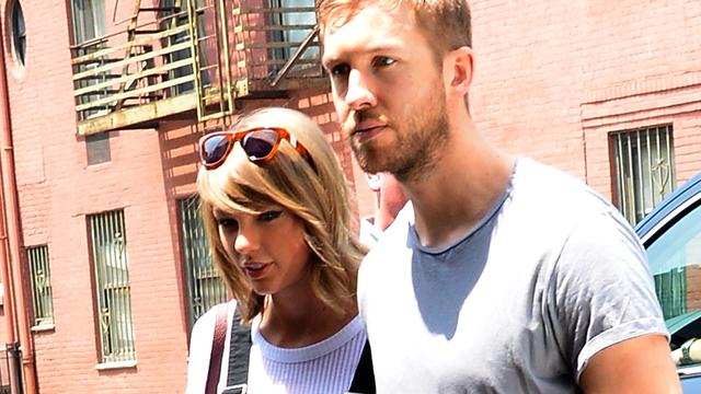 Calvin Harris 'ongelofelijk gelukkig' met Taylor Swift