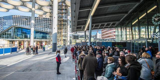 Nieuw deel van Stationsplein vanaf mei geopend