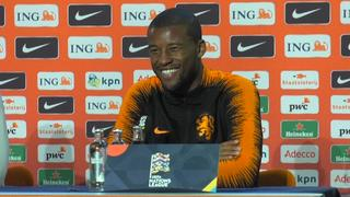 Wijnaldum: 'Stefan de Vrij is de beste in bordspel 30 Seconds'