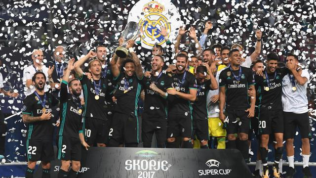Real Madrid verovert Europese Super Cup ten koste van United