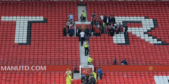 Politie zegt dat verdacht pakket op Old Trafford trainingsobject was