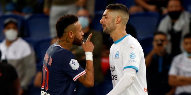 Ligue 1 vindt geen bewijs van racisme tussen Neymar en González