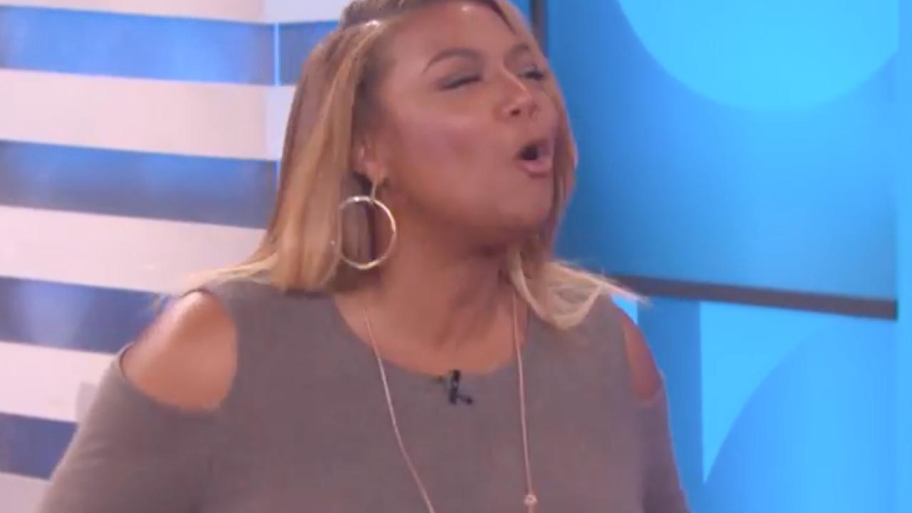 Queen Latifah doet negen artiesten na in talkshow Ellen DeGeneres