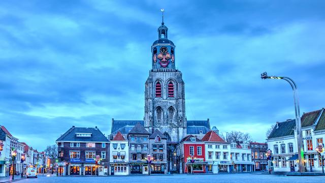 Stadlander schenkt kunstwerk Scheldeflat Bergen op Zoom
