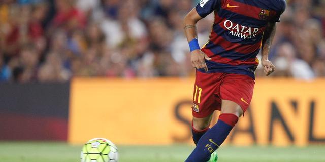 Neymar kan tegen Malaga rentree maken voor FC Barcelona