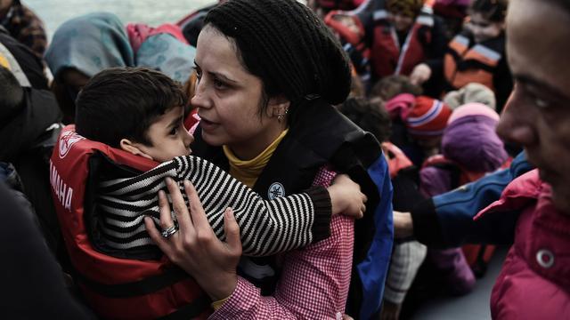 'Vaker vrouwen en kinderen onder vluchtelingen'