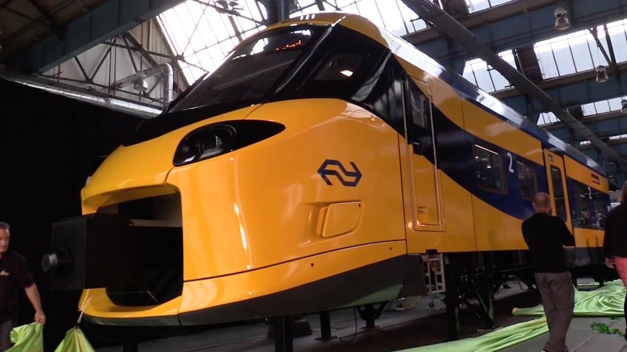 NS presenteert snellere Intercity Nieuwe Generatie