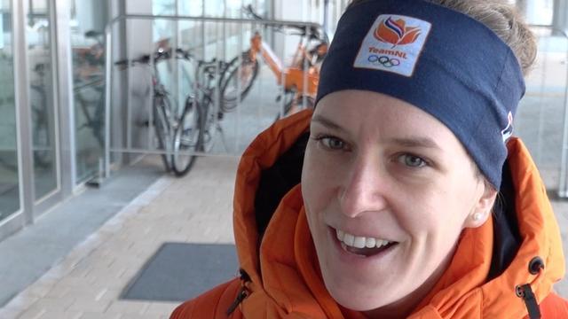 Ireen Wüst zit nog op 'olympische wolk'