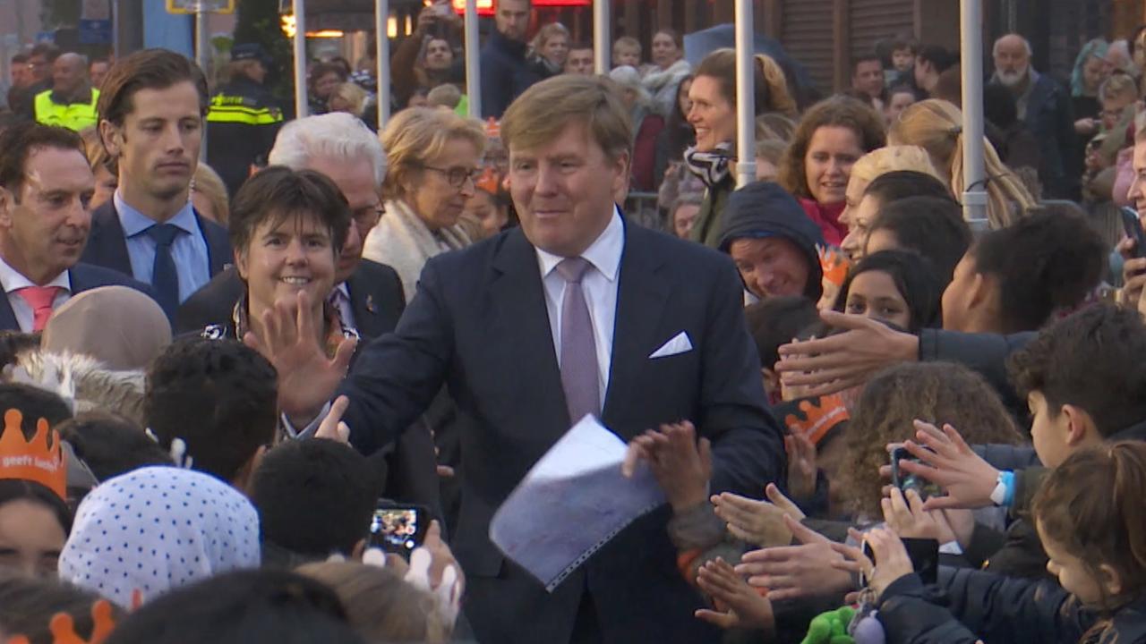 Willem Alexander Viert Vijftigste Verjaardag Lelystad Nu Het