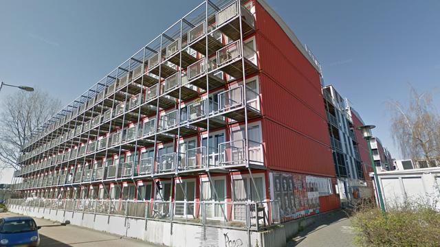 Containers aan Wenckebachweg worden op 1 november verwijderd