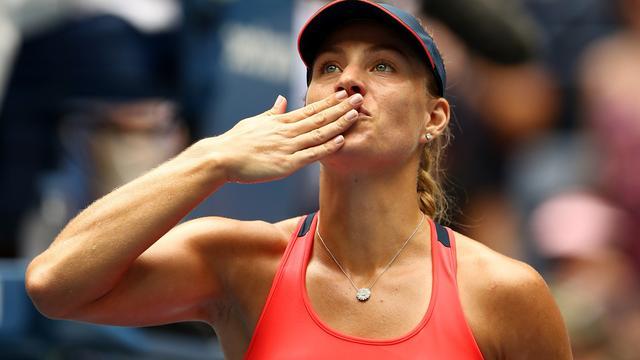 Kerber walst over Vinci heen, Monfils via Pouille naar laatste vier US Open