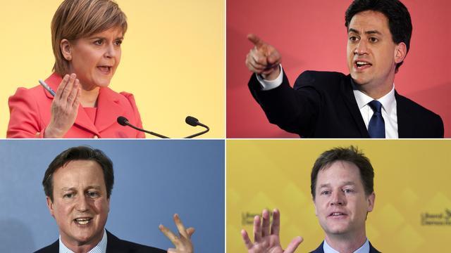 Dit zijn de belangrijkste partijen in de Britse verkiezingen