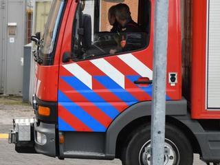 Uit voorzorg meerdere brandweerwagens uitgerukt