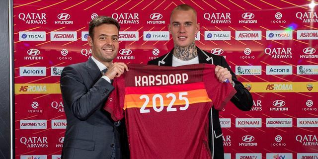Karsdorp ziet sterke rentree bij AS Roma beloond worden met nieuw contract