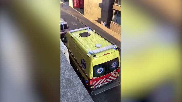 Ongeduldige chauffeur verplaatst ambulance in België