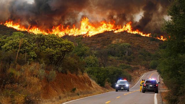 Bosbranden VS bereiken ongekende omvang, record 2018 bijna verdubbeld