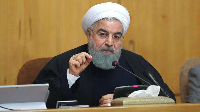 Iraanse president sluit acties tegen VS niet uit als land uit atoomakkoord stapt