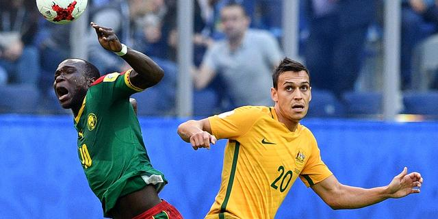 Kameroen niet langs Australië op Confederations Cup