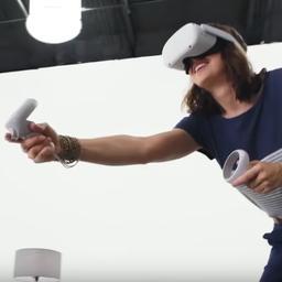 Facebook kondigt nieuwe Quest VR-bril aan en gaat AR-bril testen