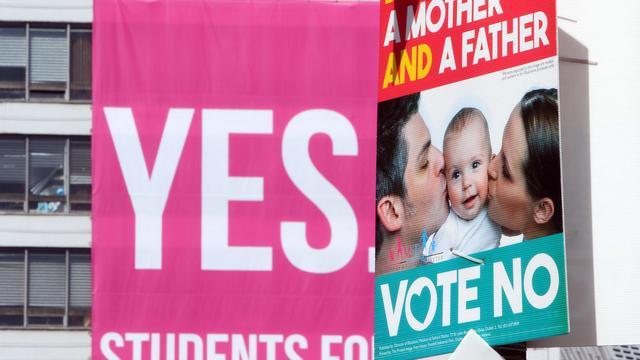 'Hoge opkomst bij referendum over homohuwelijk in Ierland'