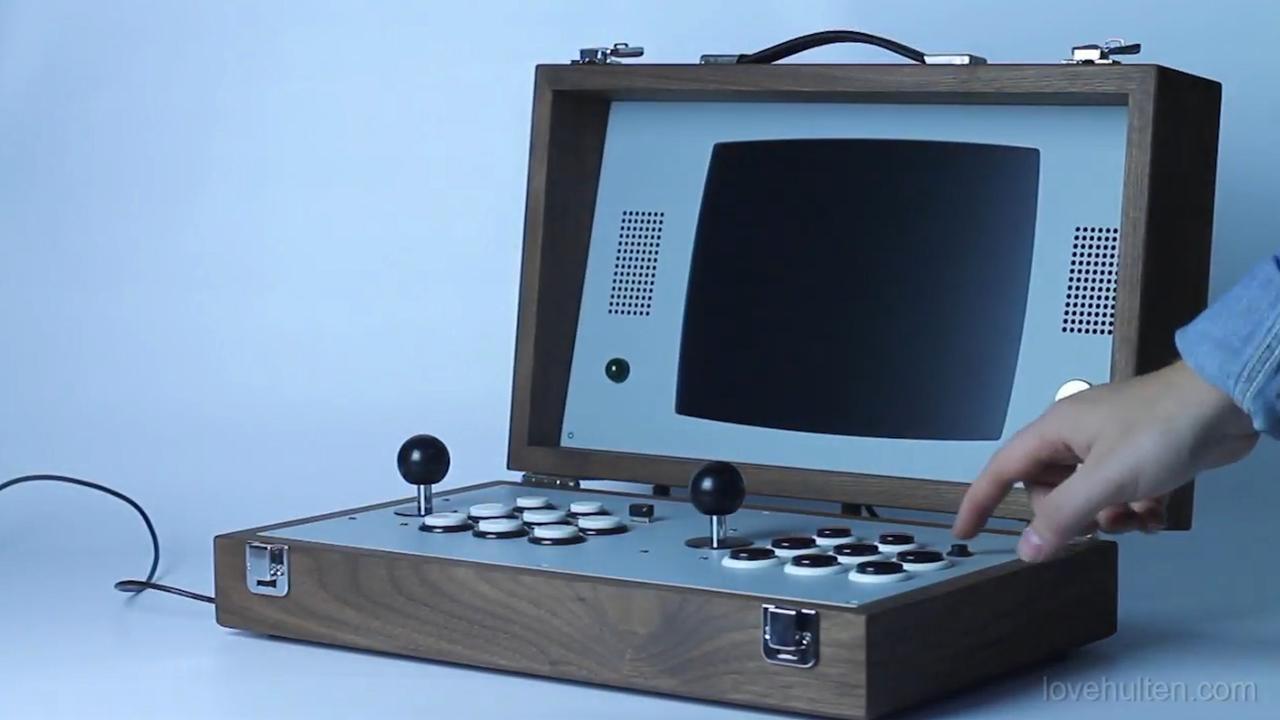 'Gamekoffer' met retrogames kost 2.600 euro
