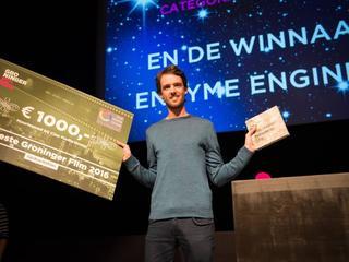Regisseur krijgt op Groningse editie IFFR prijs van duizend euro
