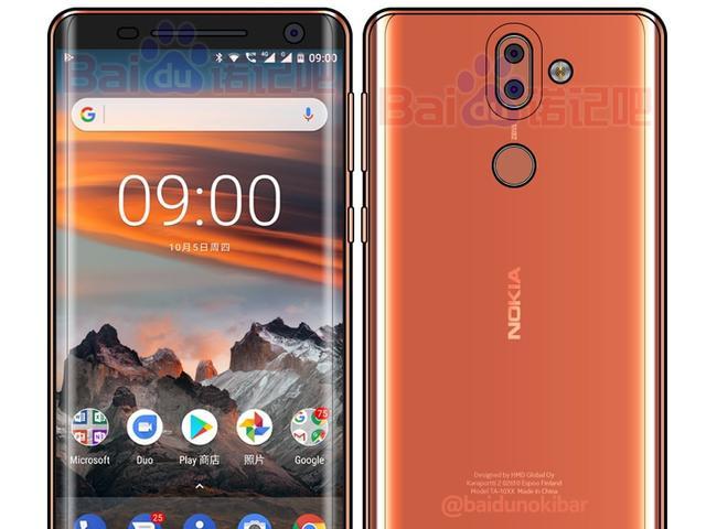 Gelekte afbeeldingen tonen vermeende Nokia 9