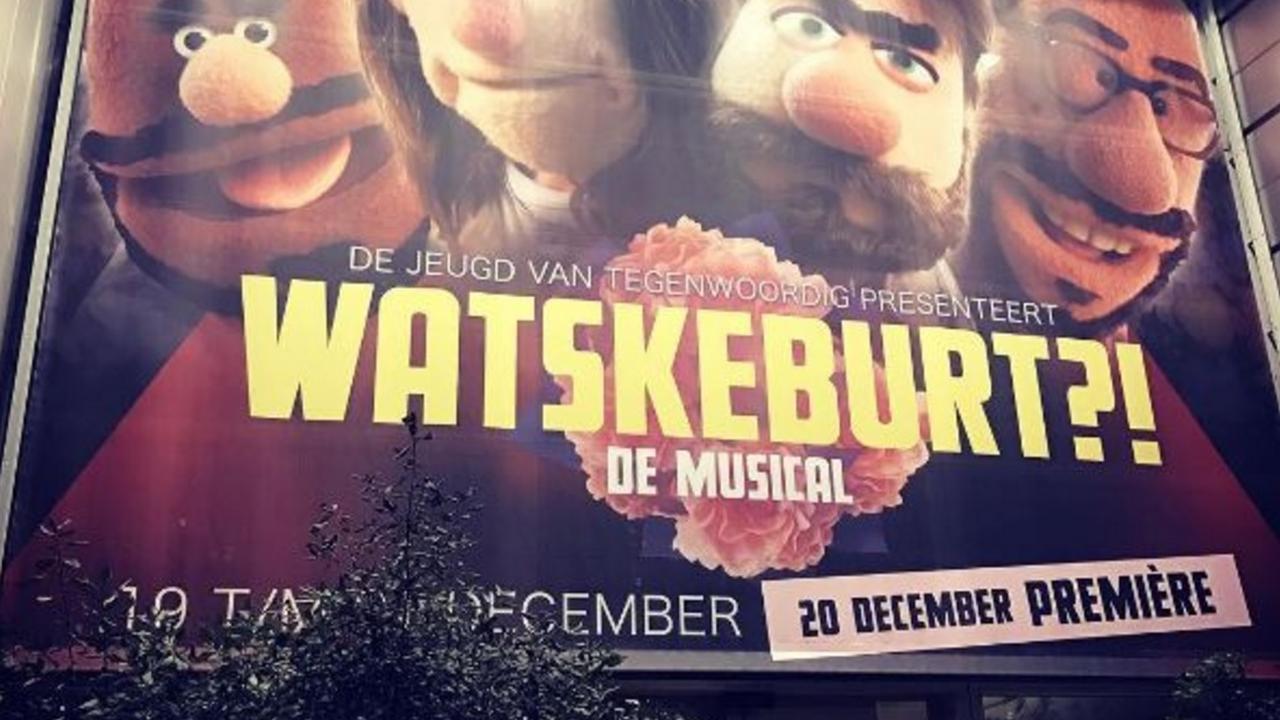 Watskeburt de Musical feestelijk in première