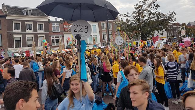 Aantal studentenhuishoudens in Leiden flink toegenomen
