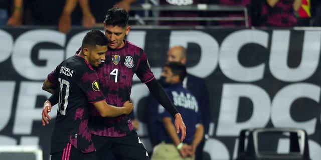 Álvarez en Gutiérrez met Mexico naar halve finales Gold Cup, ook Qatar door