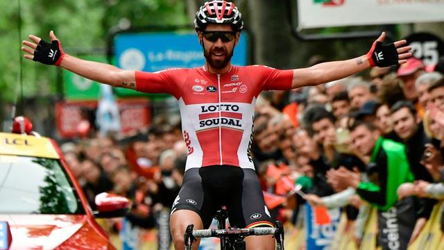 De Gendt soleert naar zege in eerste etappe Dauphiné